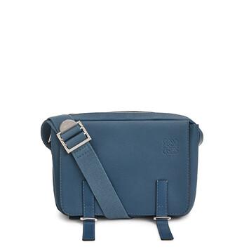 LOEWE Military Messenger Xs Bag Indigo front
