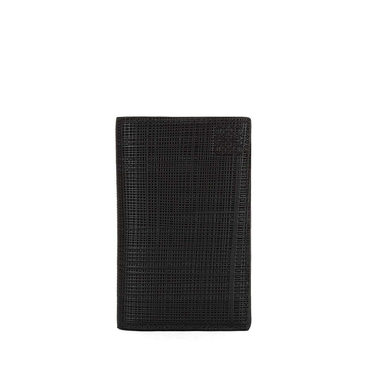 LOEWE Billetero Compacto Negro front