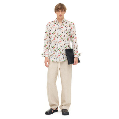 LOEWE Shirt Dancers White/Multicolor front