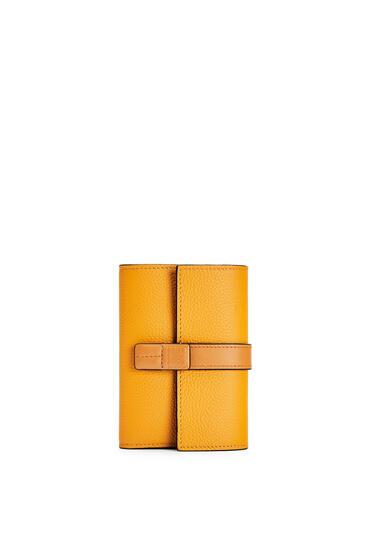 LOEWE 牛皮革垂直钱包 Sunflower/Honey pdp_rd