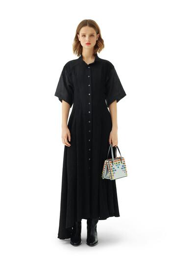 LOEWE Shirtdress Jacquard Negro front