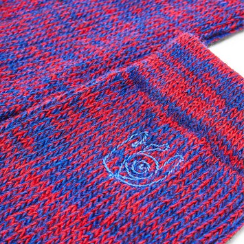 LOEWE Eln Socks Red/Blue front