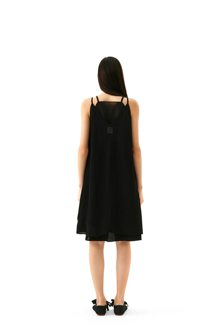 LOEWE Double Layer Dress In Cotton Black pdp_rd