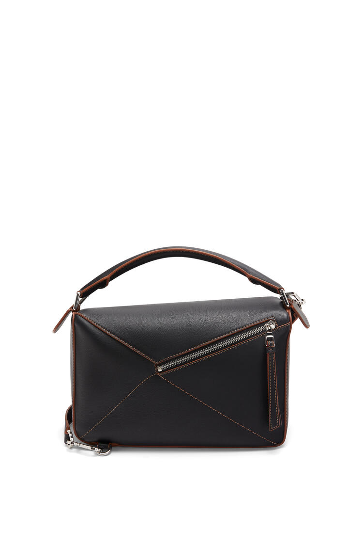 LOEWE Puzzle Soft bag in nappa calfskin Black pdp_rd