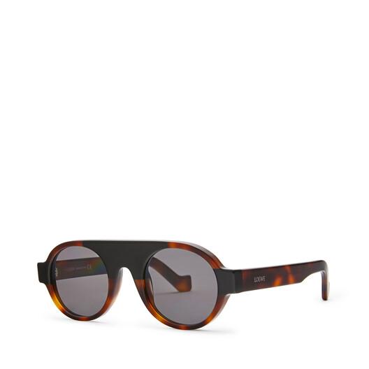 LOEWE Gafas Redondas Aviador Habana front