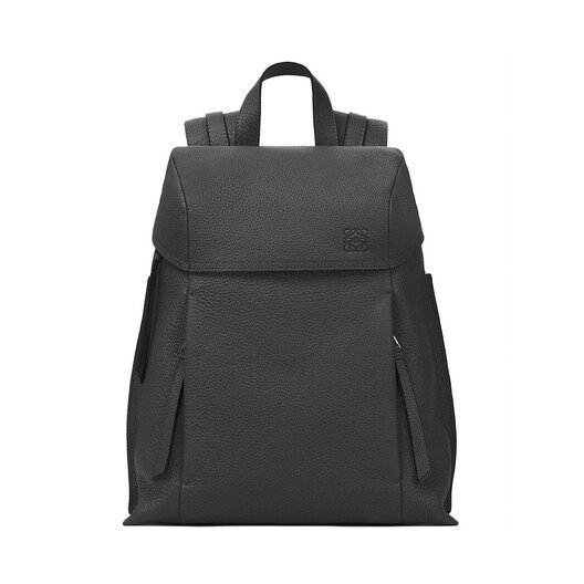 LOEWE T Backpack Small Black front