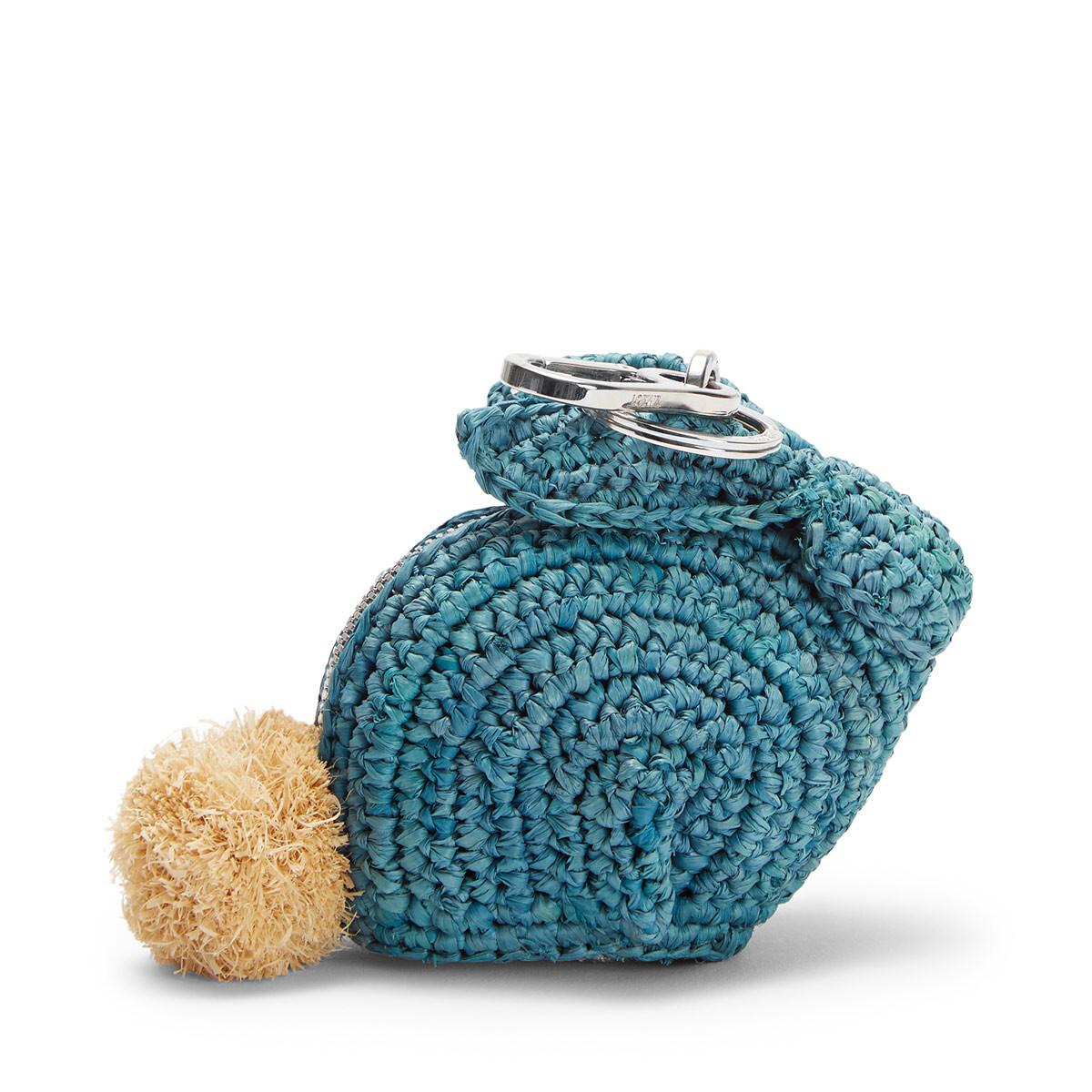 LOEWE Bunny Charm Turquoise front