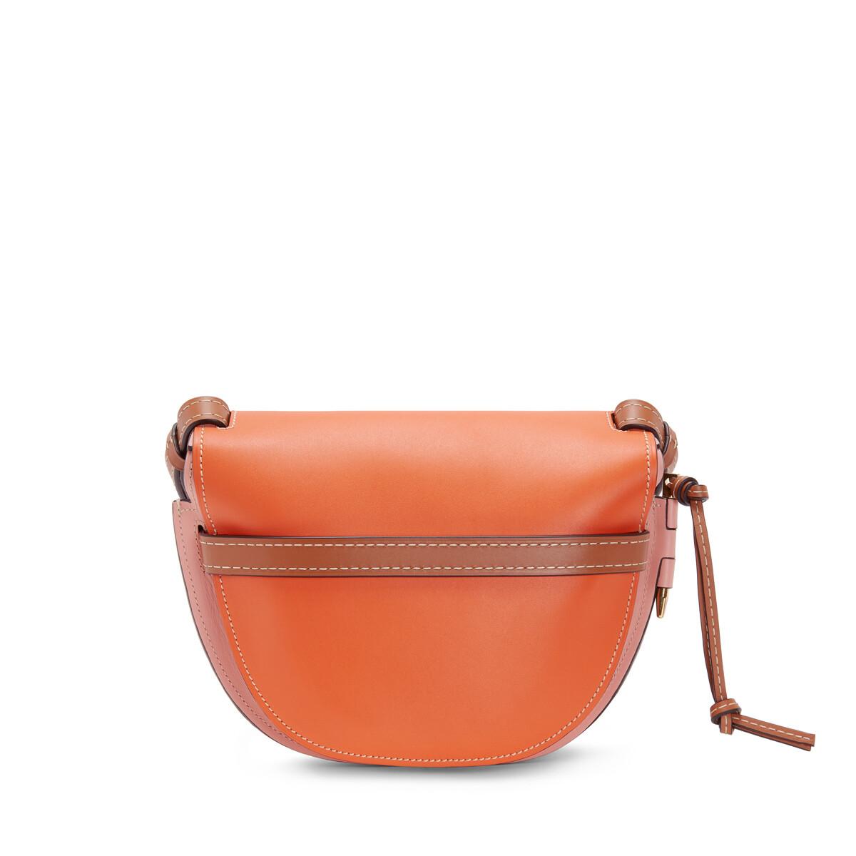 LOEWE Gate Small Bag Orange/Blossom front