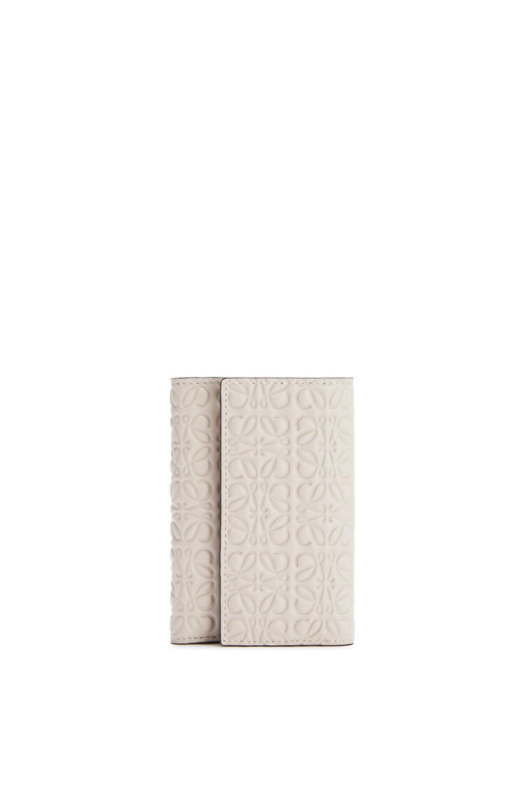 LOEWE Small vertical wallet in calfskin Light Oat pdp_rd