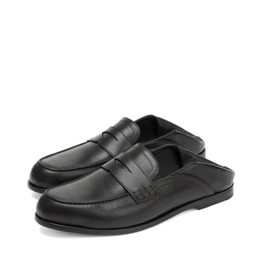 LOEWE Slip On Loafer 黑色 front