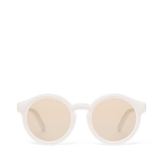 LOEWE ジュジュビー サングラス White/Light Brown front