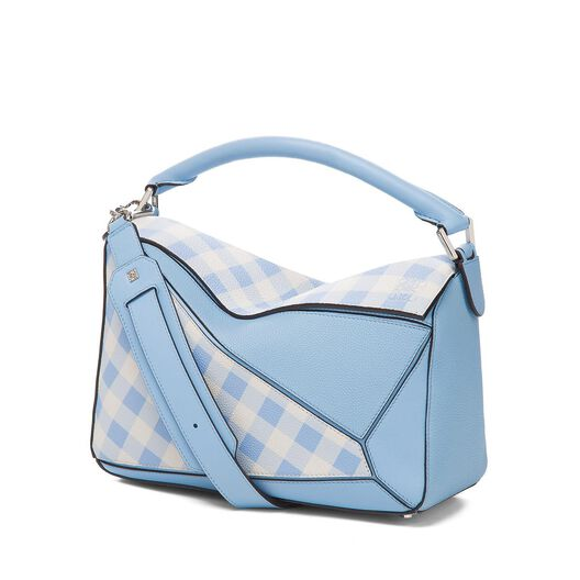 Bolso Puzzle Gingham