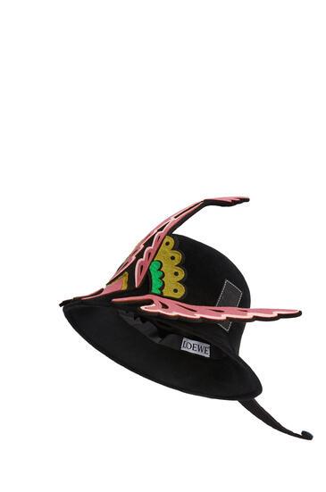 LOEWE Paradise hat in felt Black pdp_rd