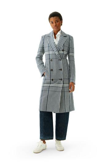 LOEWE Db Coat Negro/Blanco front