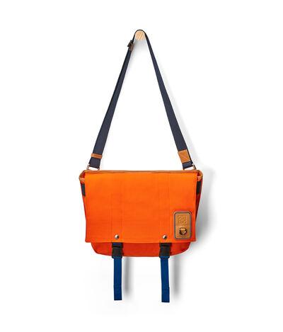 LOEWE Eln Messenger Bag Orange front