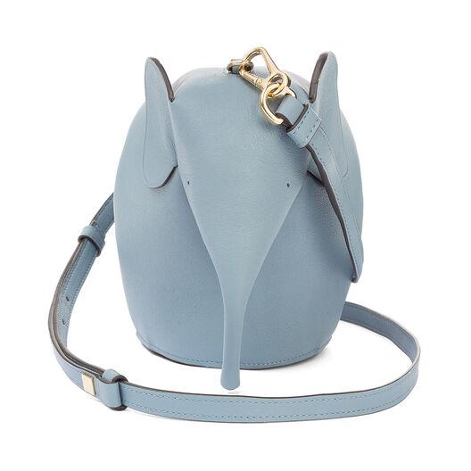 LOEWE Elephant Mini Bag 灰蓝色 front