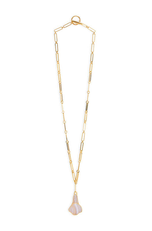 LOEWE Calla Necklace 紫丁香 front