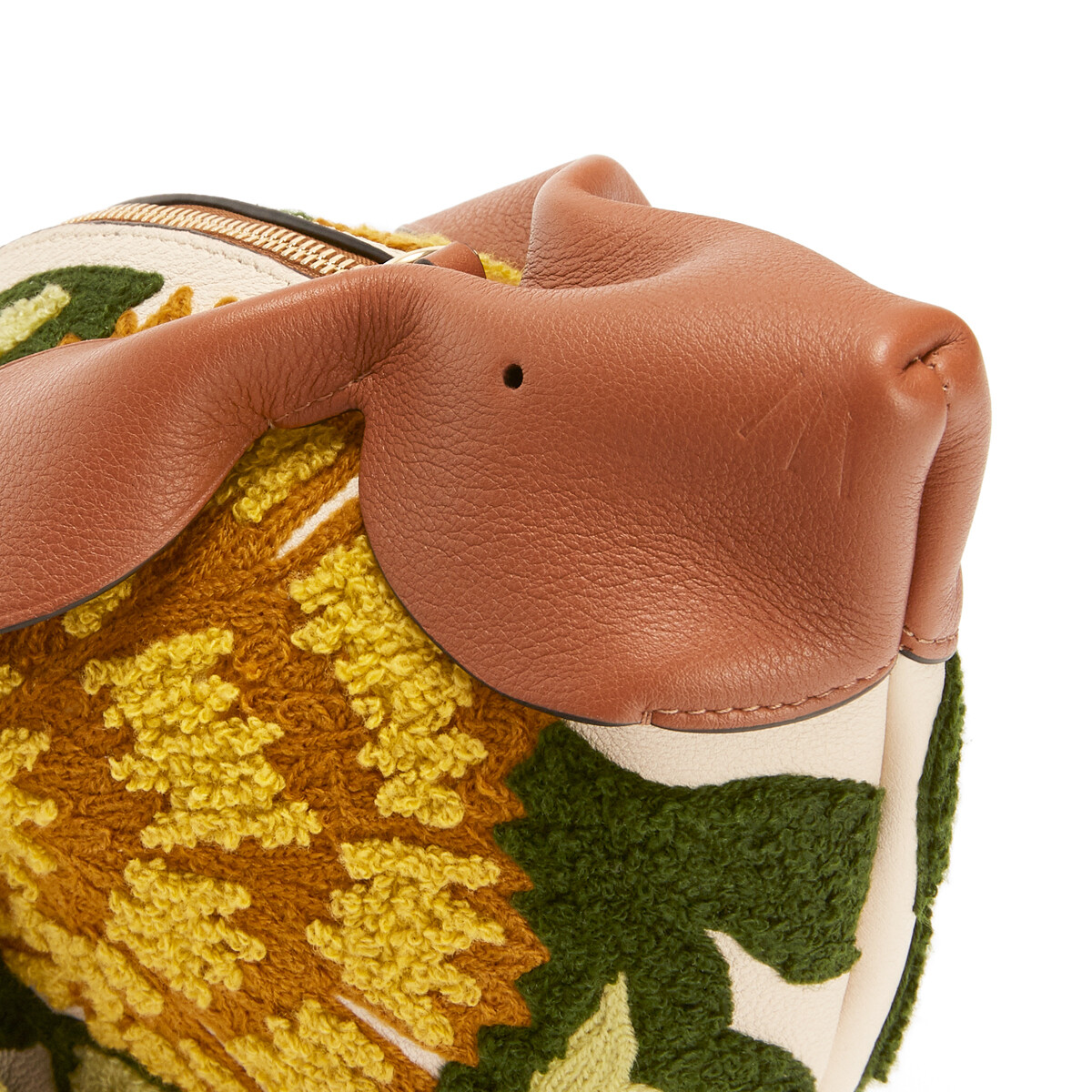 LOEWE Bunny Floral Bag Yellow front