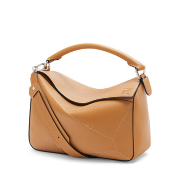 LOEWE Puzzle Soft Bag Warm Desert front