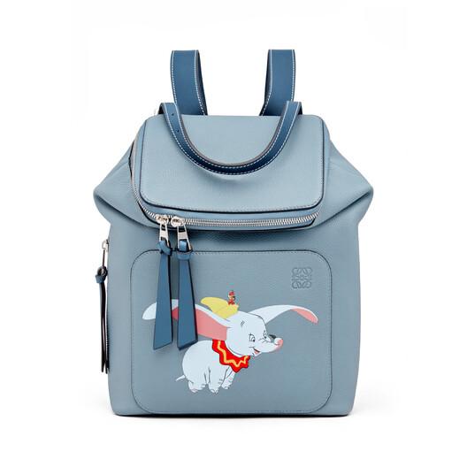 LOEWE Goya Dumbo Small Backpack 灰蓝色 front