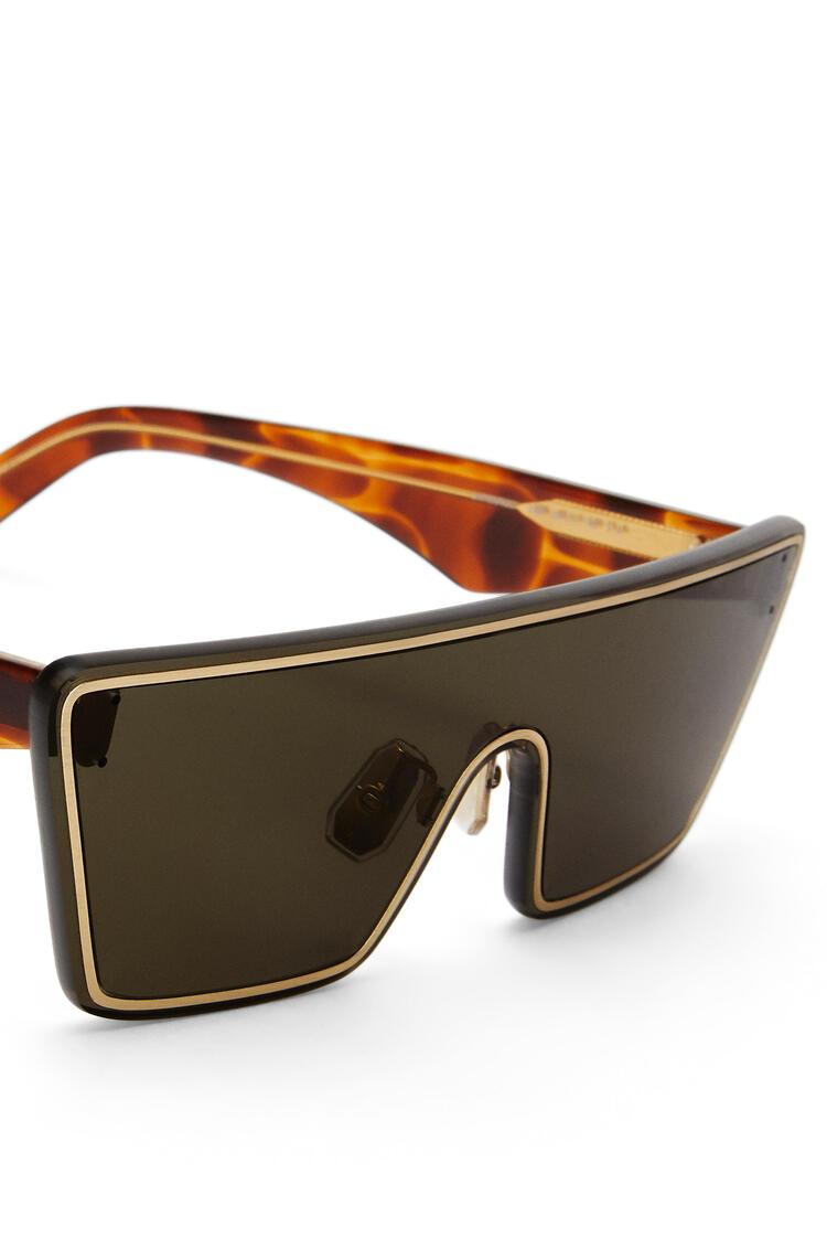 LOEWE Gafas de sol Mask pequeñas Verde Musgo pdp_rd