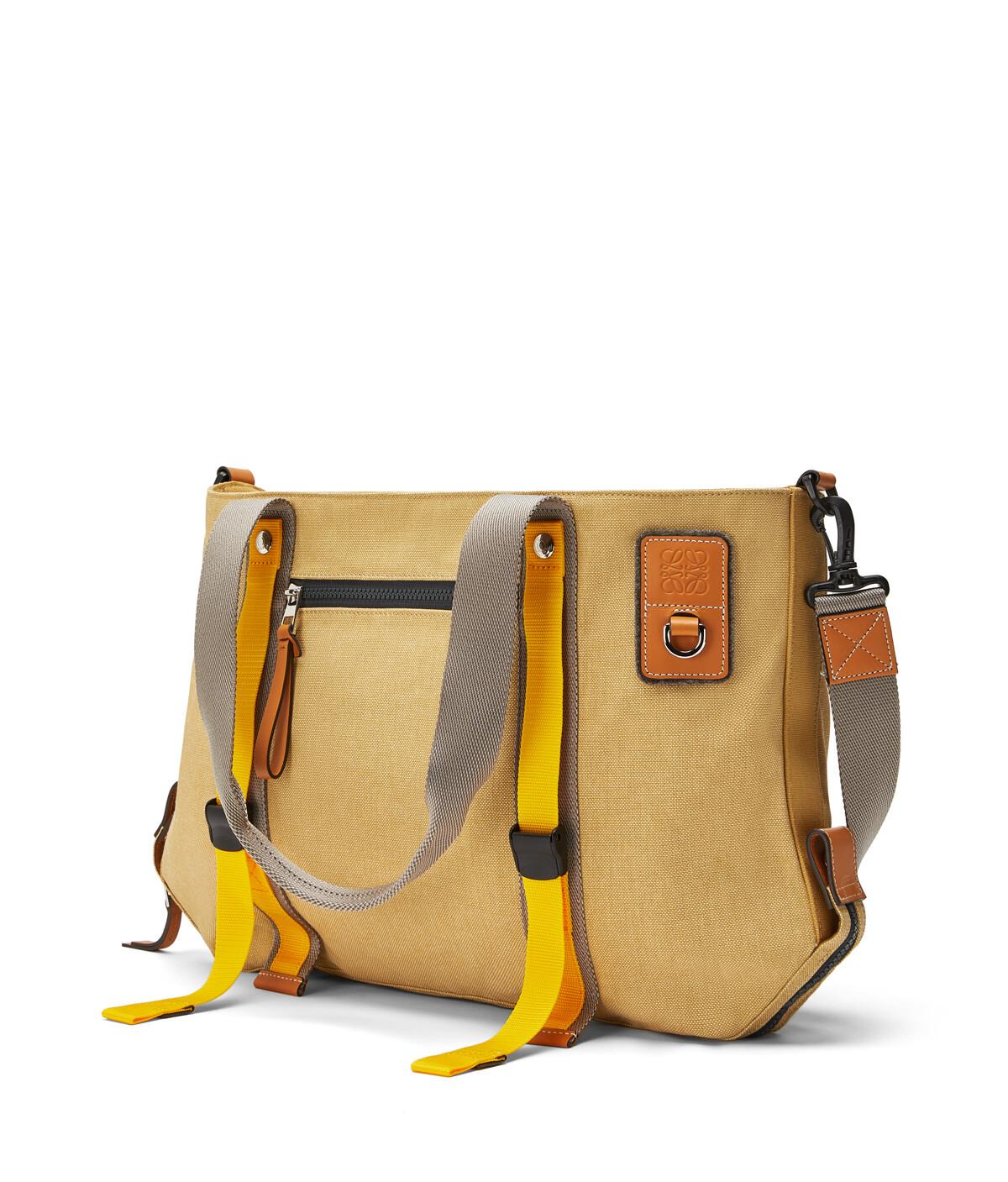 LOEWE Eye/Loewe/Nature Tote Bag Gold front