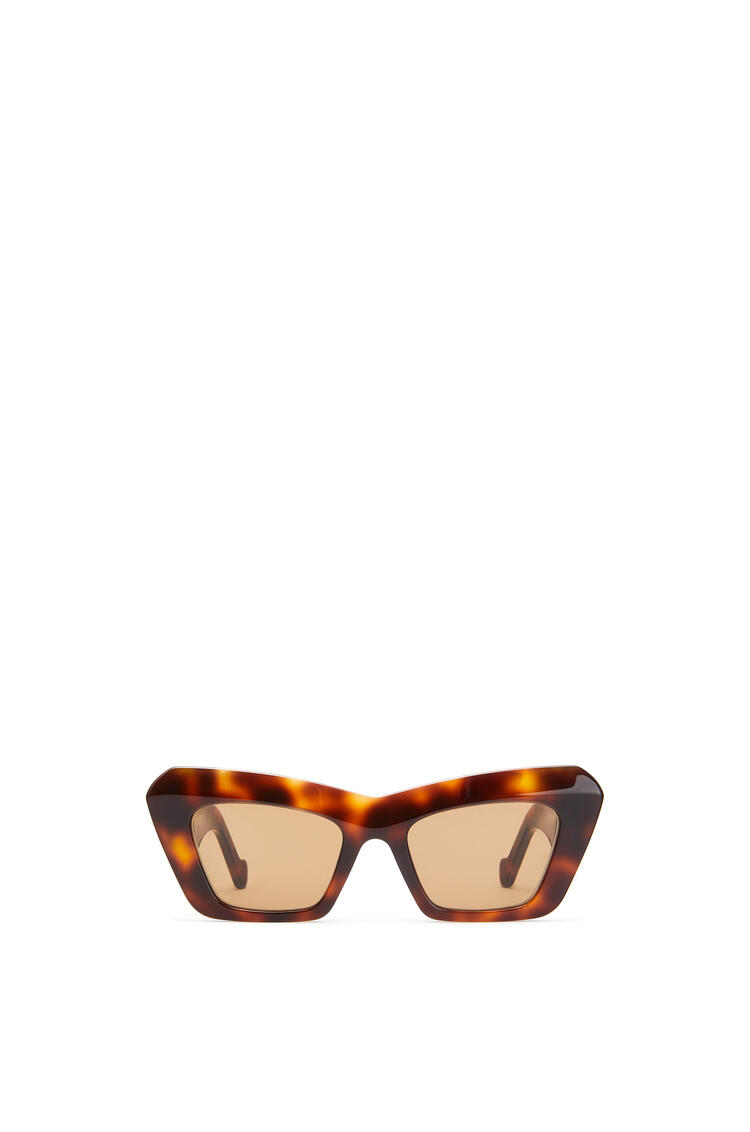 LOEWE Acetate Cateye Sunglasses 雪茄色 pdp_rd