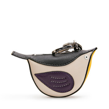 LOEWE Charm Pajaro Violeta/Multicolor front