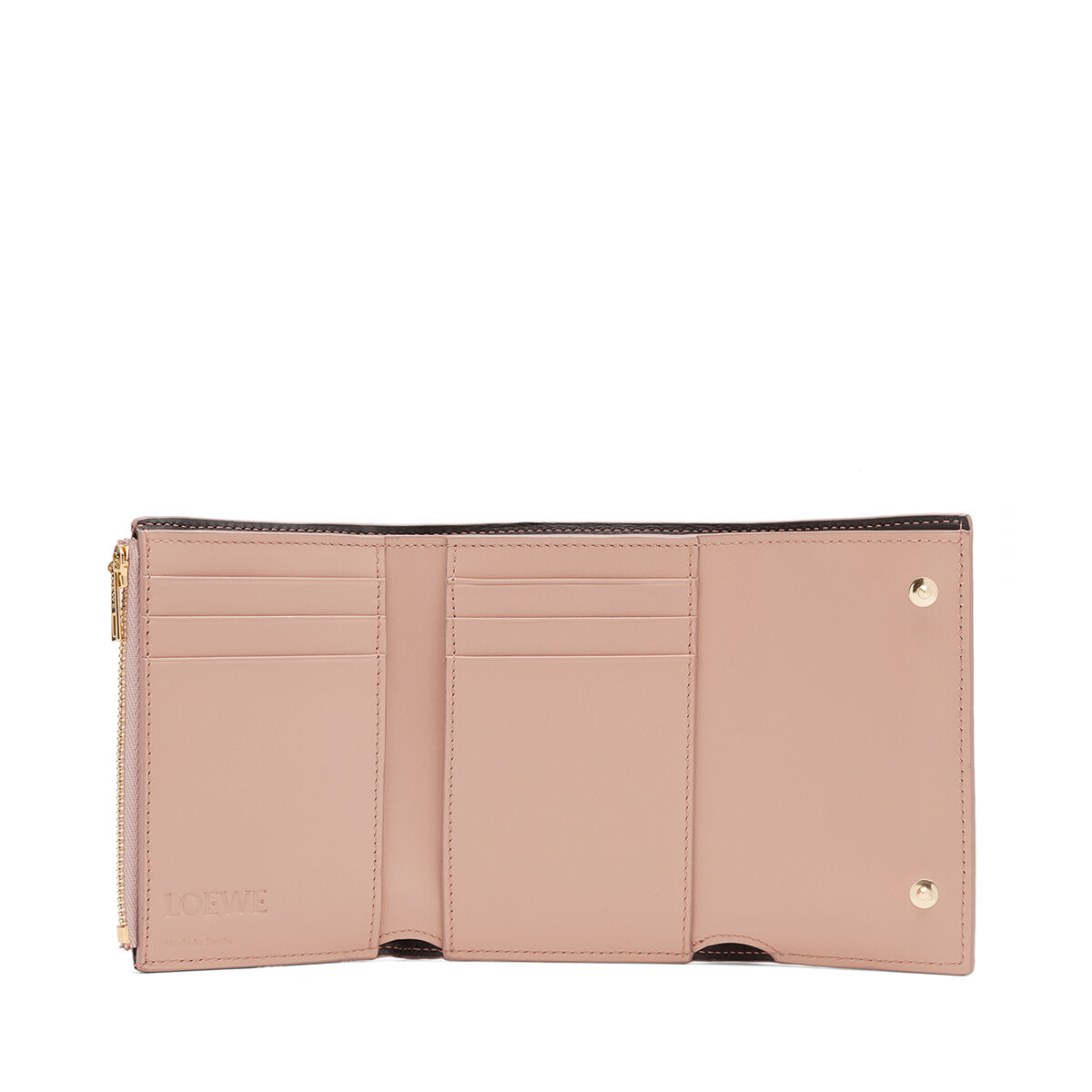 LOEWE Small Vertical Wallet Blush all