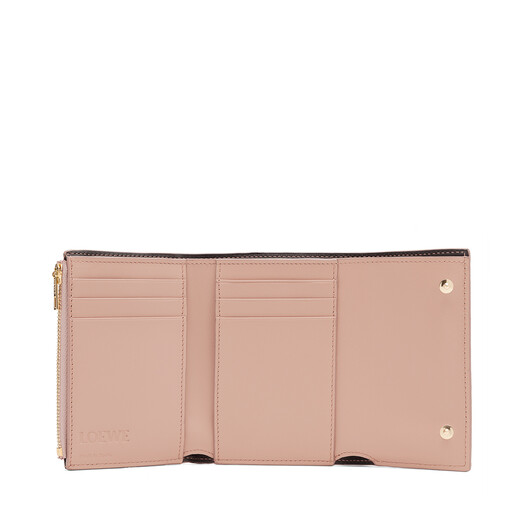 LOEWE Small Vertical Wallet Blush front