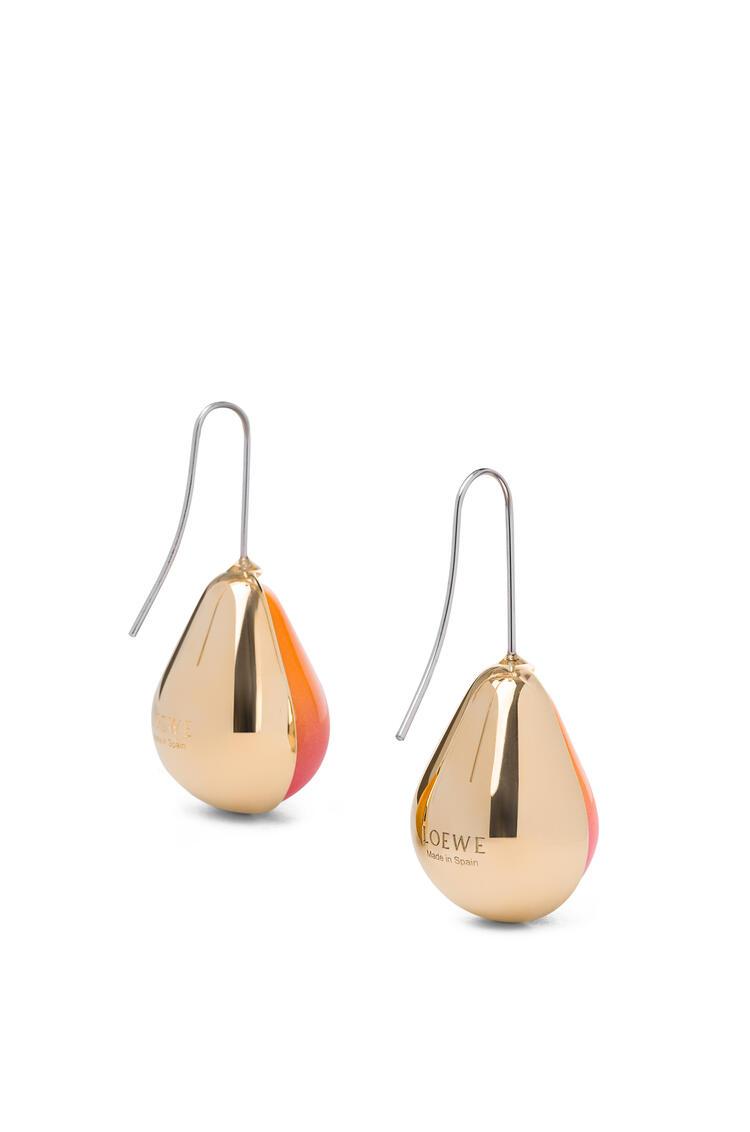 LOEWE Vermeer Earring Gold/Orange pdp_rd