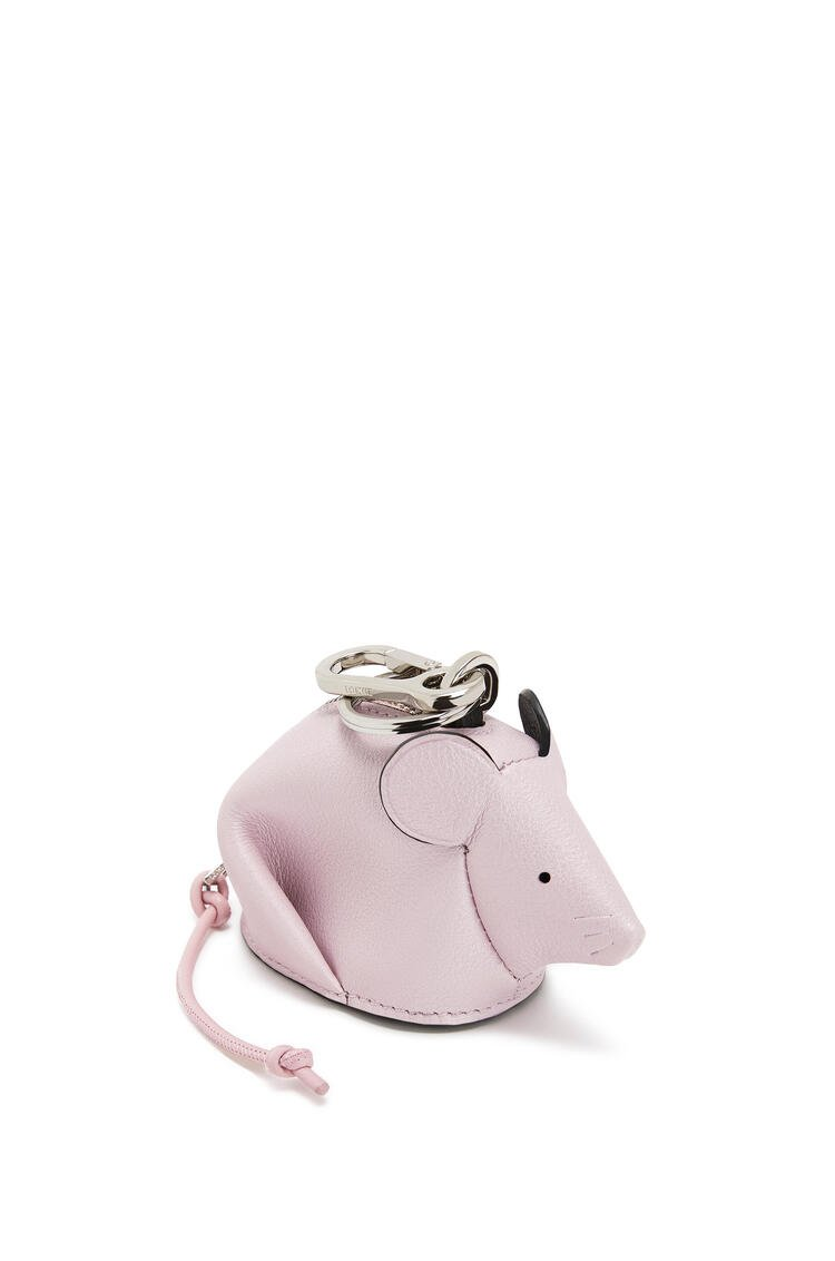 LOEWE マウス チャーム(パーライズド カーフスキン) Icy Pink/Candy pdp_rd