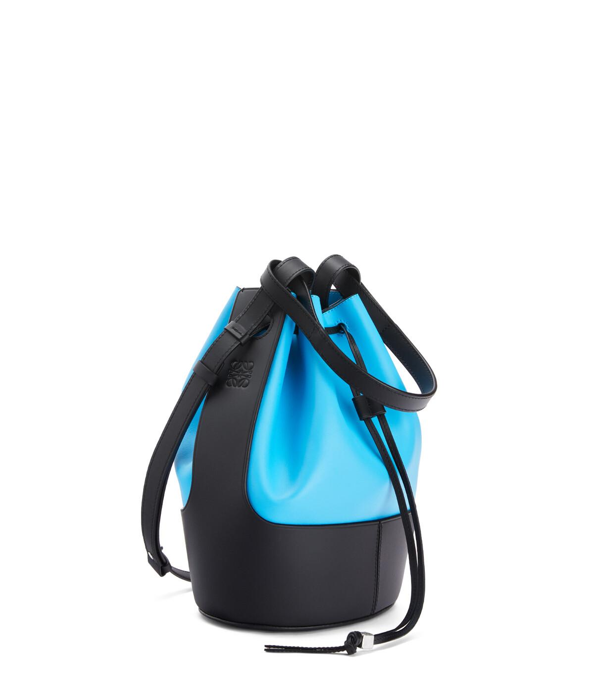 LOEWE Balloon Bag Topaz Blue/Black front