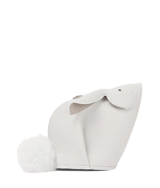 LOEWE Bunny Coin Purse White front