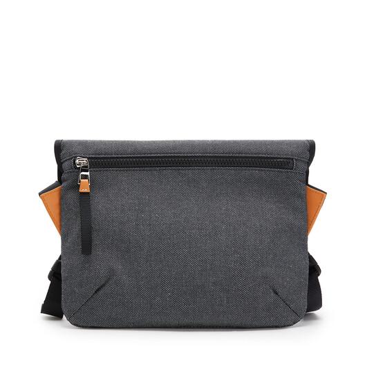 LOEWE Eye/Loewe/Nature Messenger Small Bag Black front