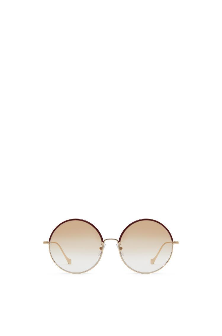 LOEWE Round Sunglasses Burdeos/Polvo pdp_rd