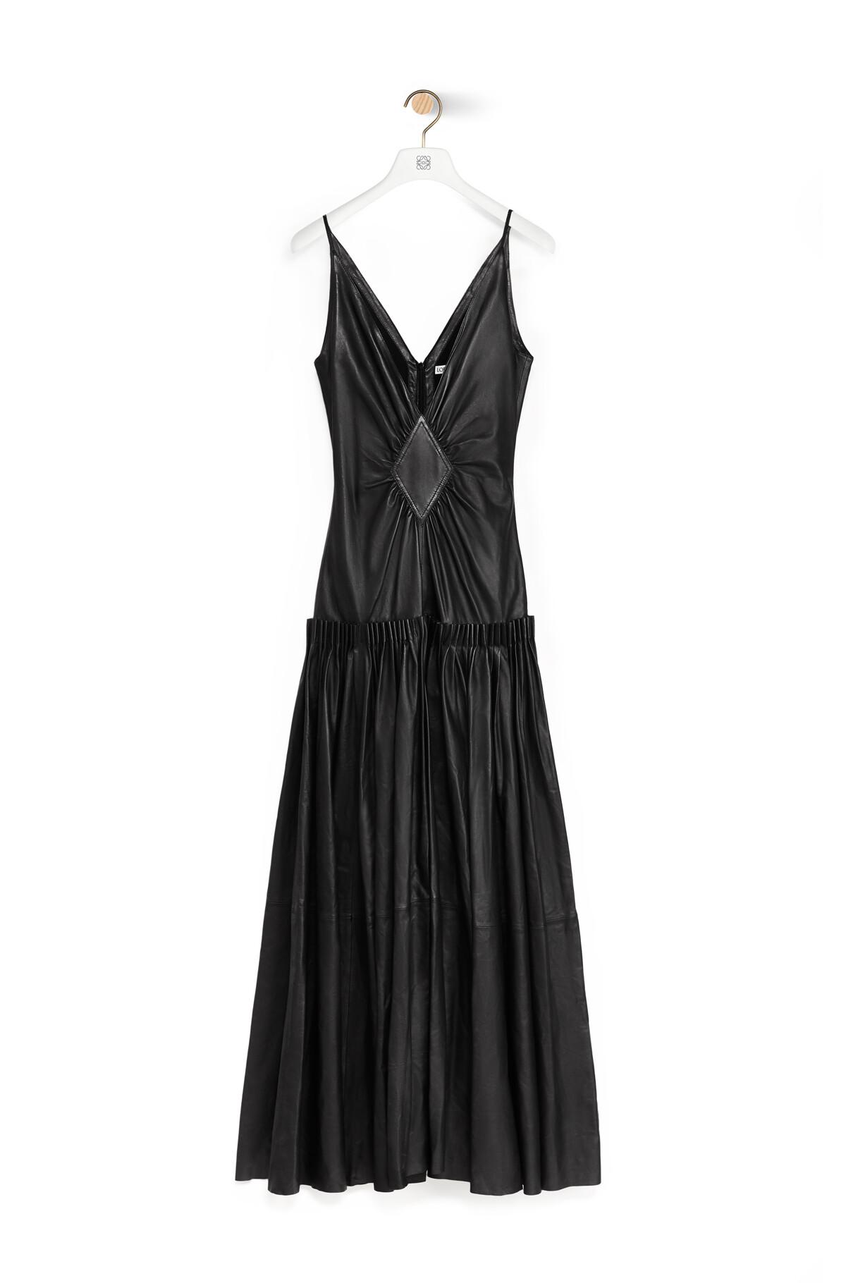 LOEWE Vestido Tirantes Negro front