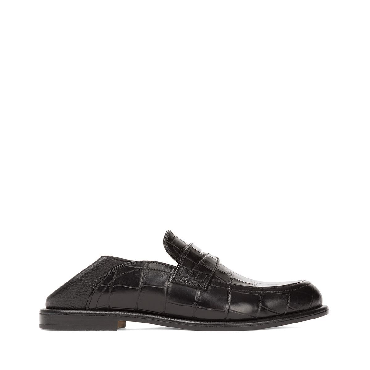 LOEWE Slip On Loafer Black/Black all