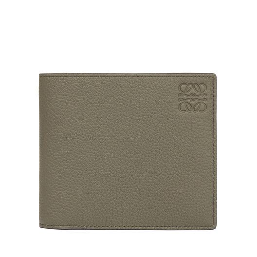 LOEWE Billetero Verde Kaki/Color Pecana front