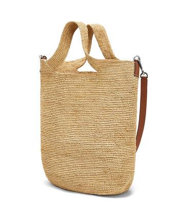 LOEWE Paula's Slit Yin Yang Large Bag Natural front