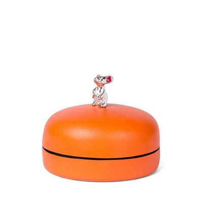 LOEWE Box Mouse Small マンダリン front