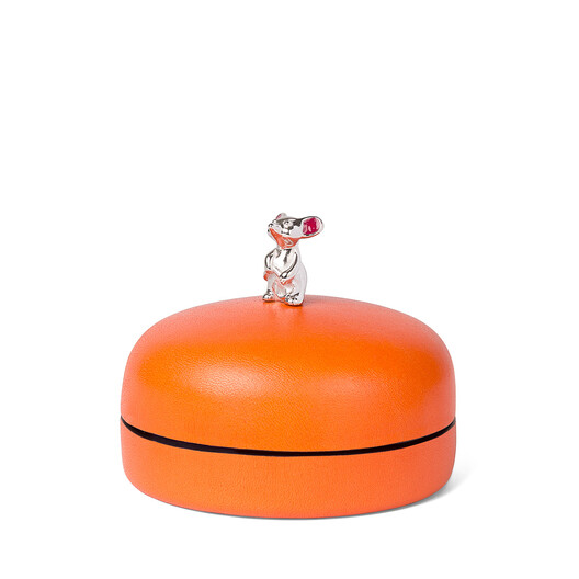 LOEWE Box Mouse Small Mandarin front