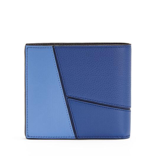 LOEWE Puzzle Bifold Wallet Pacific Blue/Seaside Blue all