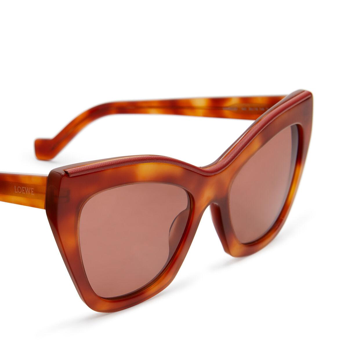LOEWE Gafas Cateye Amarillo Vintage/Rojo/M Solido front