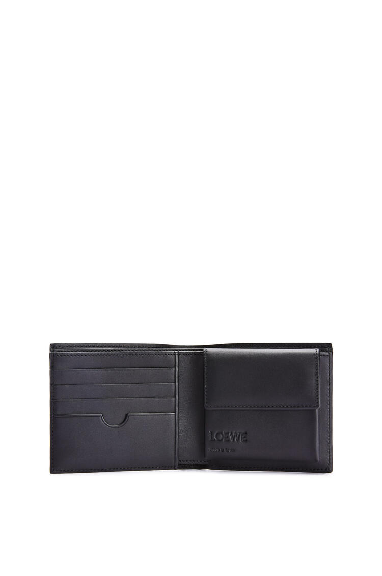 LOEWE Bifold coin wallet in soft grained calfskin Cognac pdp_rd