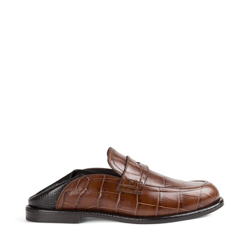 LOEWE Slip On Loafer Brown/Black front