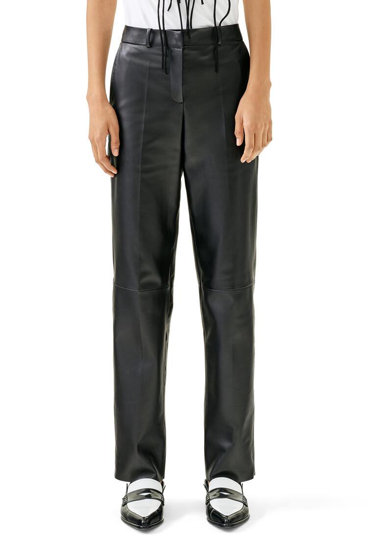 LOEWE Trousers In Nappa Black pdp_rd