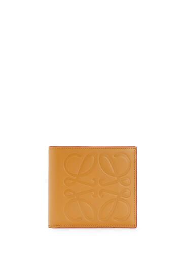 LOEWE Bifold Wallet In Smooth Calfskin Honey pdp_rd