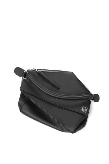 LOEWE Large Puzzle bag in classic calfskin 黑色 pdp_rd