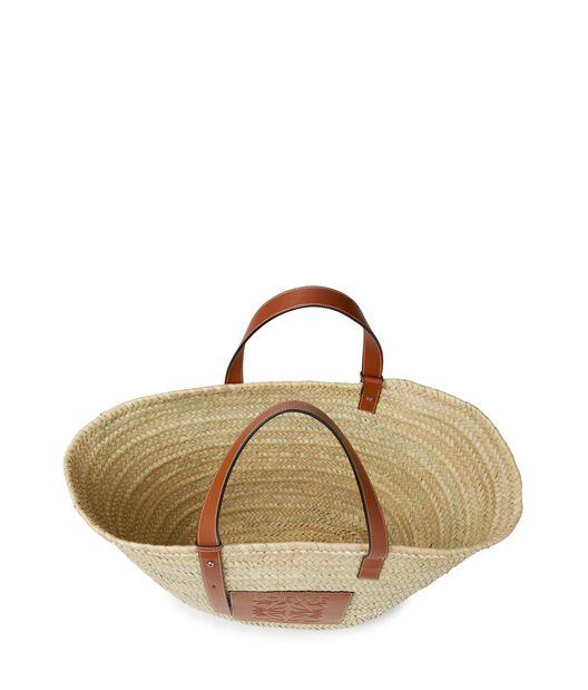LOEWE Basket Large 原色/棕褐色 front